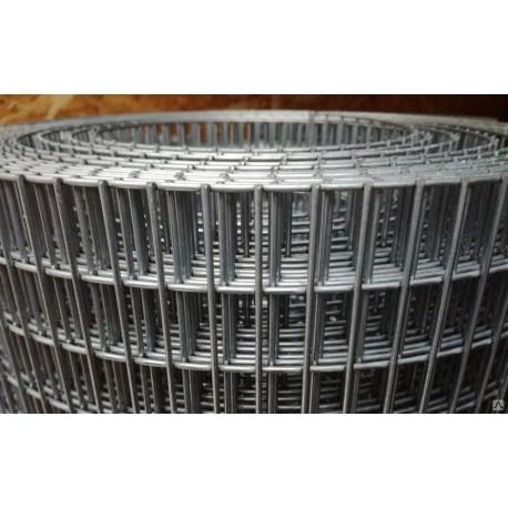 Сетка сварная Zn 25х25 d 1.4мм (1х25м)