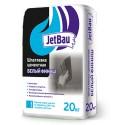 """Шпатлевка цементная """"Белый финиш"""" """"JetBau"""" , 20 кг"""